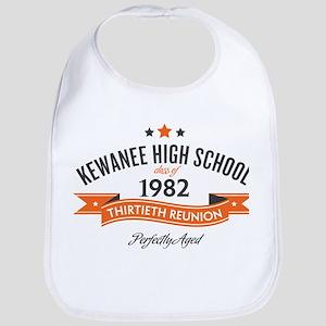 Kewanee High School - 30th Class Reunion - #10 Bib