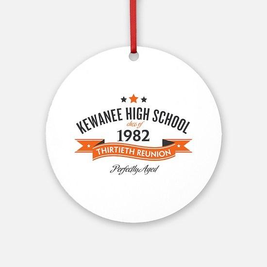 Kewanee High School - 30th Class Reunion - #10 Orn