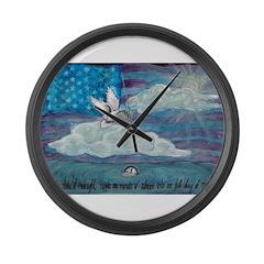 * Large Wall Clock