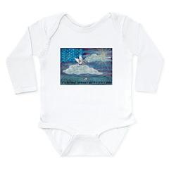 * Long Sleeve Infant Bodysuit