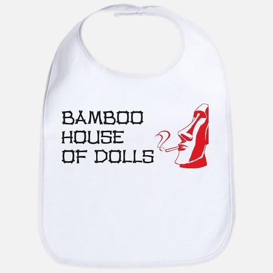 Bamboo House of Dolls Bib
