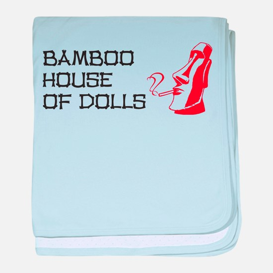 Bamboo House of Dolls baby blanket