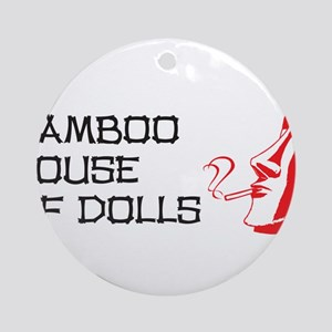 Bamboo House of Dolls Ornament (Round)