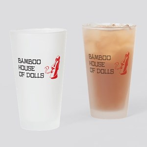 Bamboo House of Dolls Drinking Glass