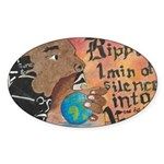 10 Sticker (Oval 50 pk)