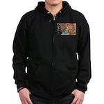 10 Zip Hoodie (dark)