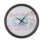 9 Large Wall Clock