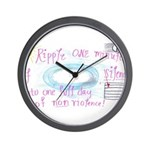 9 Wall Clock
