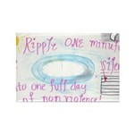 9 Rectangle Magnet (100 pack)