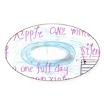 9 Sticker (Oval)