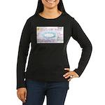 9 Women's Long Sleeve Dark T-Shirt