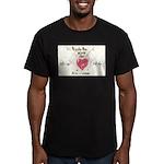 8 Men's Fitted T-Shirt (dark)