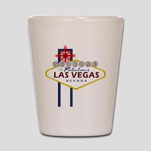 VegasSign Shot Glass