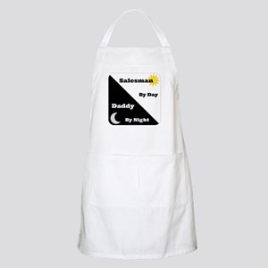 Salesman by day Daddy by night Apron