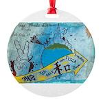 6 Round Ornament