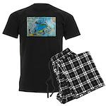 6 Men's Dark Pajamas