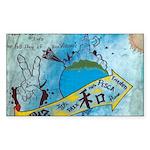 6 Sticker (Rectangle 50 pk)
