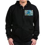 6 Zip Hoodie (dark)