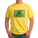6 Yellow T-Shirt
