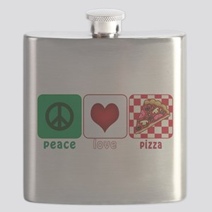 PeaceLovePizza Flask