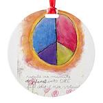 2 Round Ornament