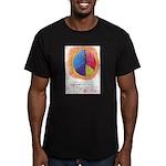 2 Men's Fitted T-Shirt (dark)