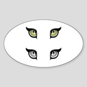 Eye Sticker (Oval)