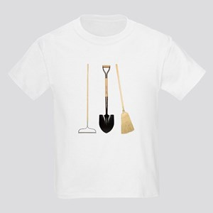 Gardening Tools Kids T-Shirt