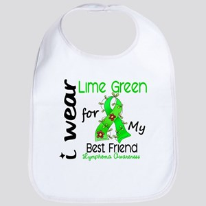 I Wear Lime 43 Lymphoma Bib