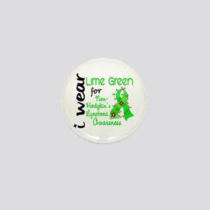 I Wear Lime 43 Lymphoma Mini Button