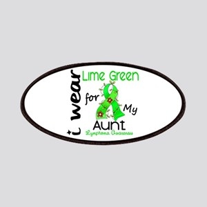 I Wear Lime 43 Lymphoma Patches