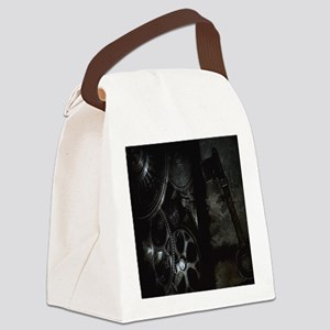The Key Canvas Lunch Bag