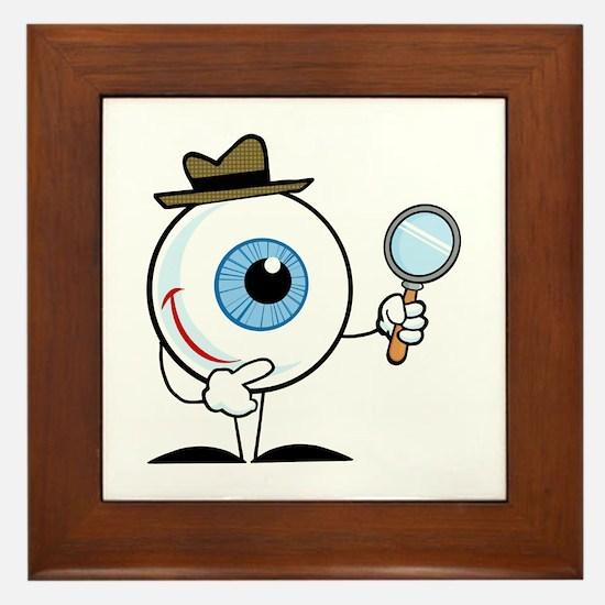 Eye Framed Tile