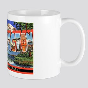 Washington State Greetings Mug