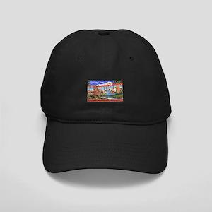 Washington State Greetings Black Cap