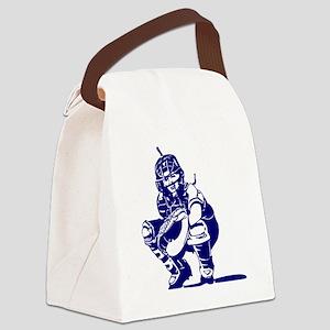 2102534_BLUE Canvas Lunch Bag
