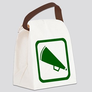 j0383900green Canvas Lunch Bag