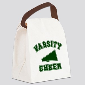 32221362GREEN Canvas Lunch Bag