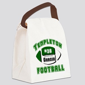TFOOTBALL5custom Canvas Lunch Bag