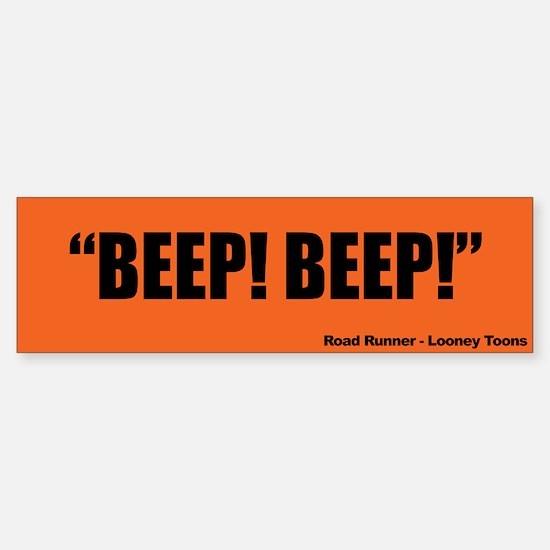 Beep! Beep!, Road Runner - Bumper Bumper Sticker