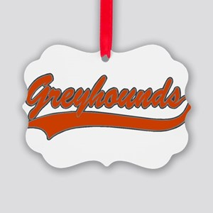32330913GREYHOUNDS1 Picture Ornament