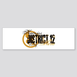 Katniss Hero D12 Sticker (Bumper)