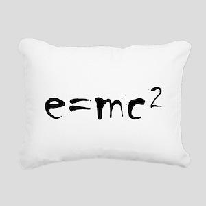 E=MC2 Rectangular Canvas Pillow