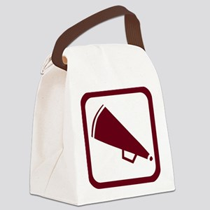 j0383900maroon.png Canvas Lunch Bag