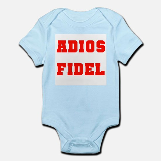 ADIOS FIDEL CASTRO OF CUBA Infant Creeper