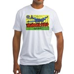 Wendover Field Utah (Front) Fitted T-Shirt