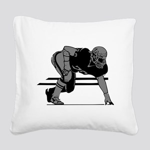 2105862GRAY Square Canvas Pillow