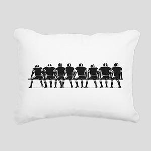 2105590GRAY Rectangular Canvas Pillow