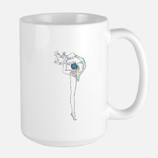Color Rhythmic Ball Large Mug