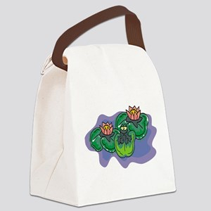 Frog100 Canvas Lunch Bag